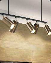 Adjustable Spotlights: